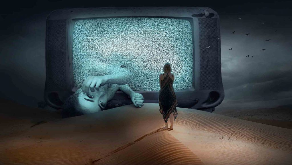 3. You Become Extremely Sensitive to Violence on TV, Film and the News